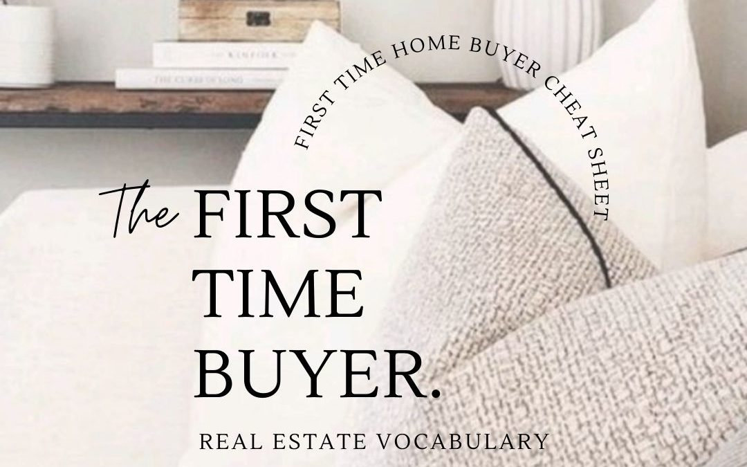 First Time Home Buyers – Real Estate Terms in Ontario